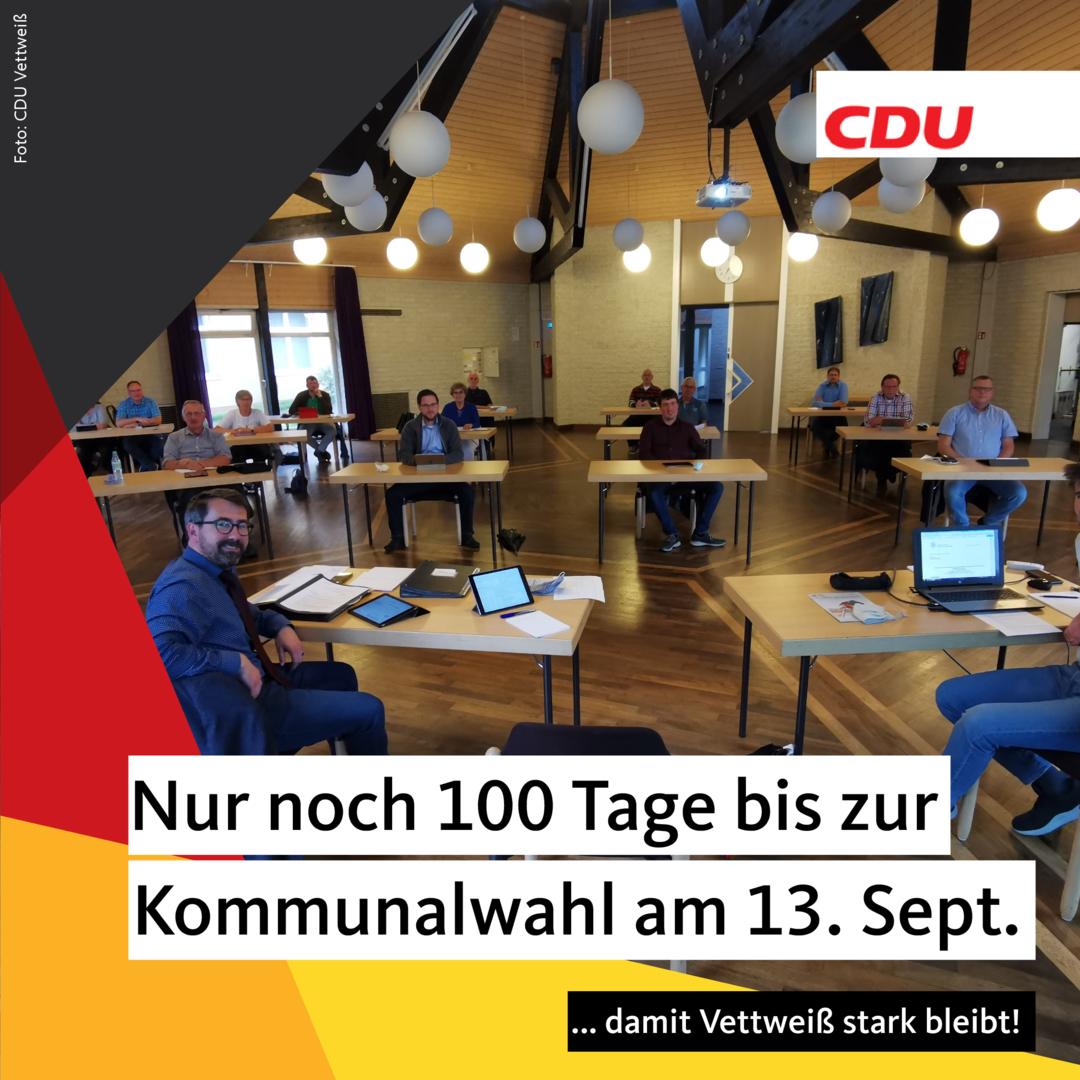 100 Tage bis zur Kommunalwahl