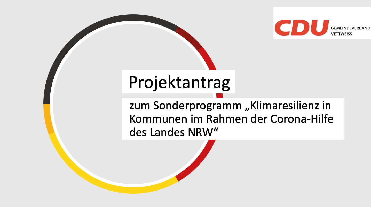 Antrag der CDU Fraktion vom 14.01.21