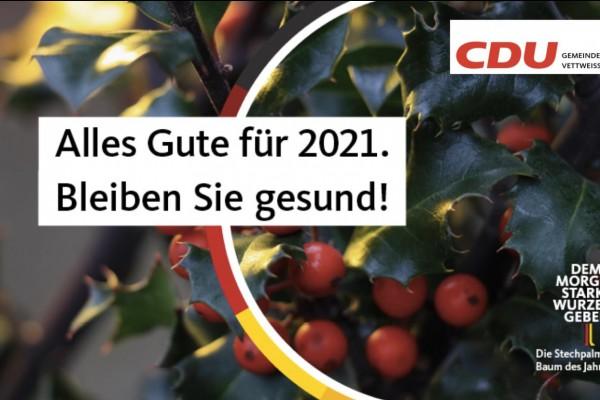 Alles Gute für 2021