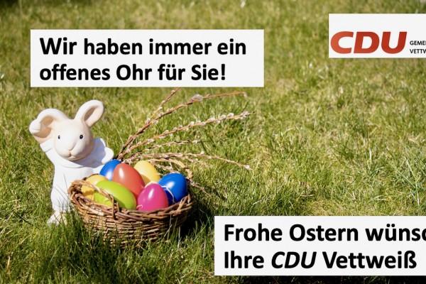 Ostergruß des CDU Gemeindeverband Vettweiß
